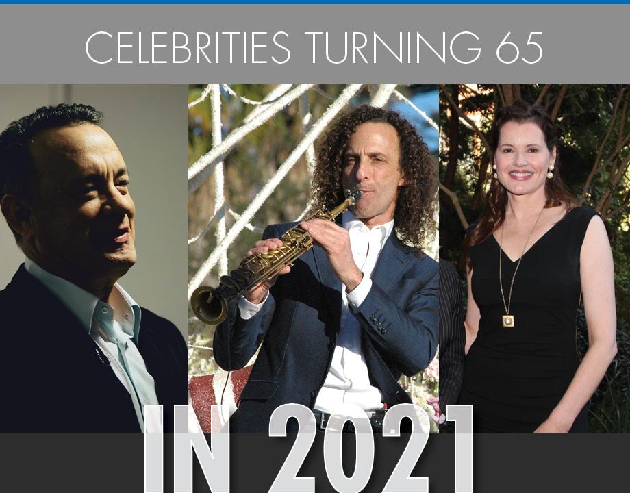 Celebrities Turning 65 in 2021