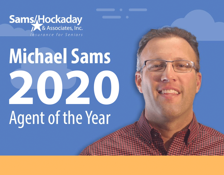 Michael Sams Earns 2020 Agent of the Year Award