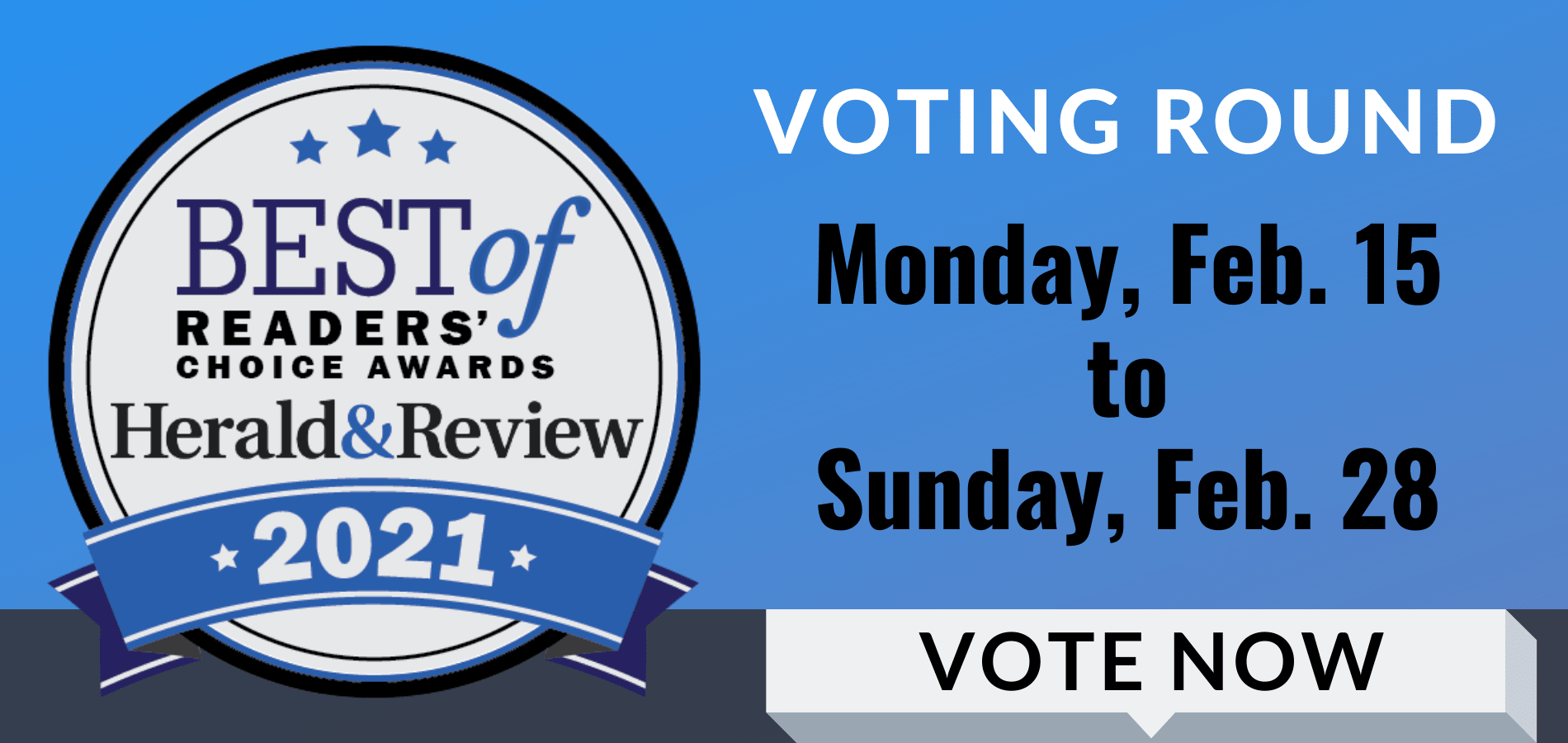 Cast Your Vote For Sams/Hockaday – Best of Readers' Choice Awards