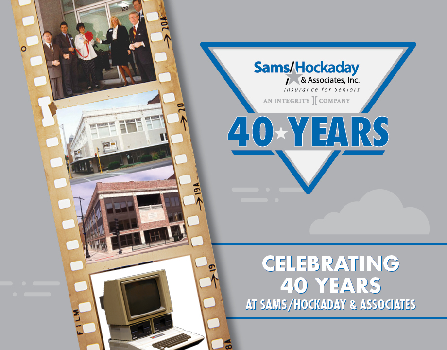 Celebrating 40 Years at Sams/Hockaday & Associates