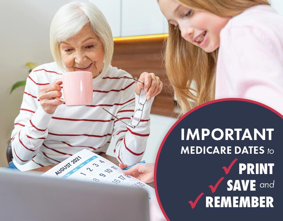 Important Medicare Dates to Print, Save, and Remember