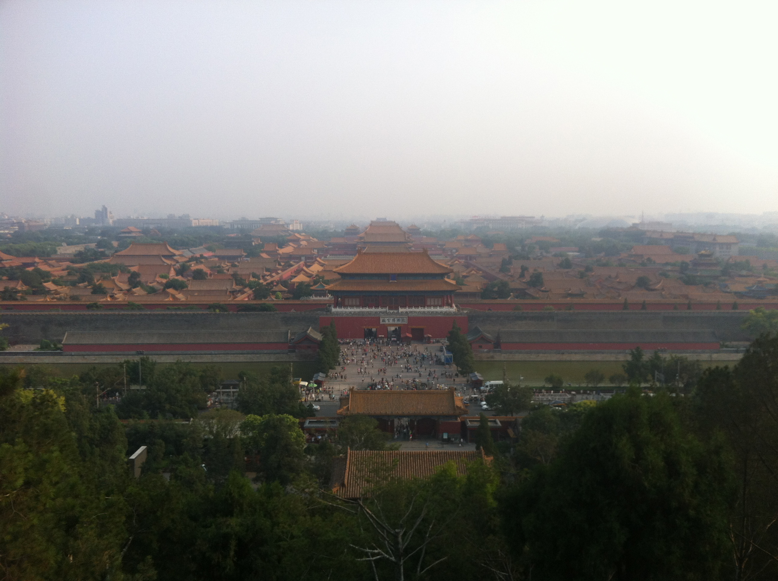 Smog over the Forbidden City | Photo by Wilson Carletti (All Rights Reserved)