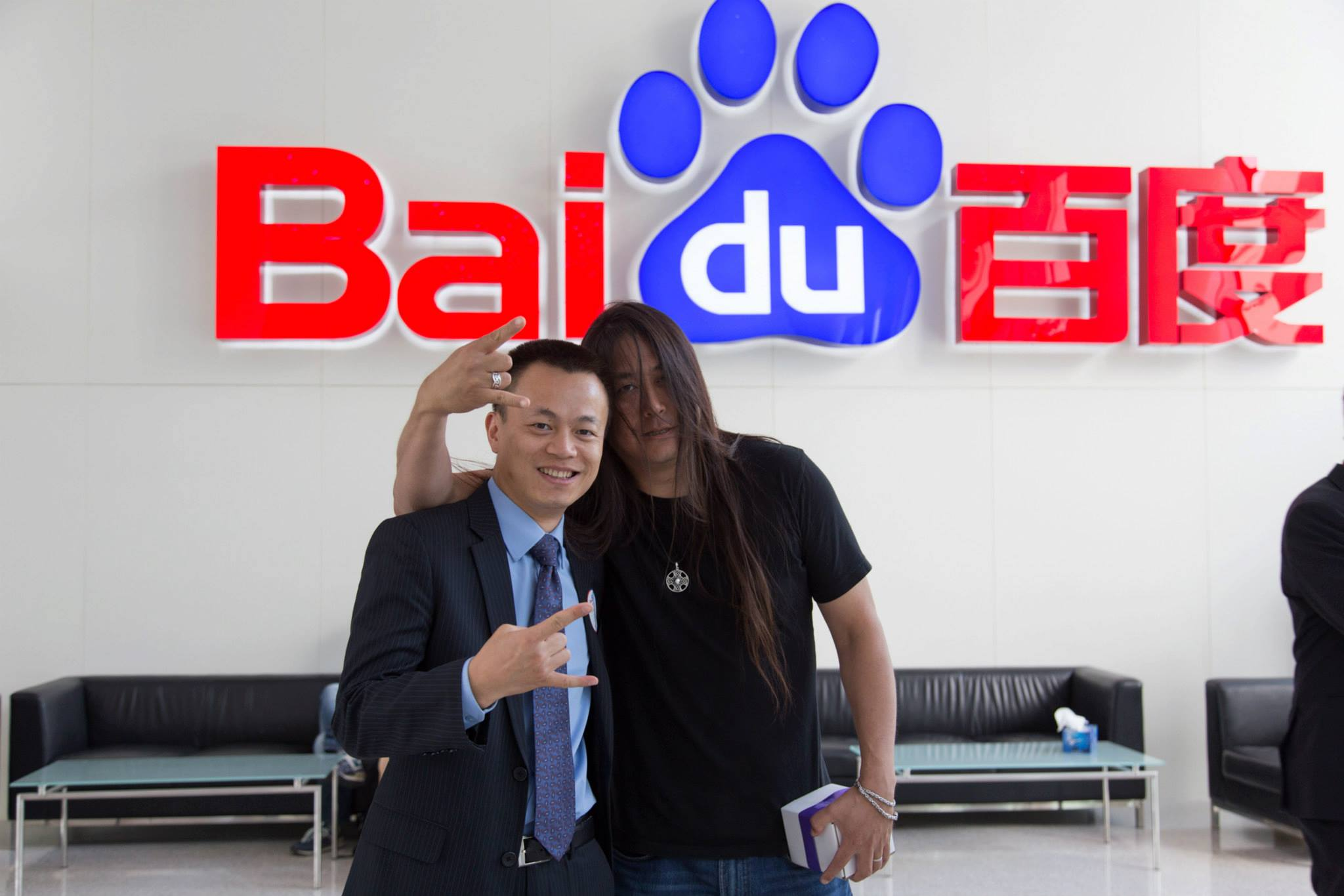 Shaosong + Kaiser at Baidu | Photo by Wilson Carletti (All Rights Reserved)