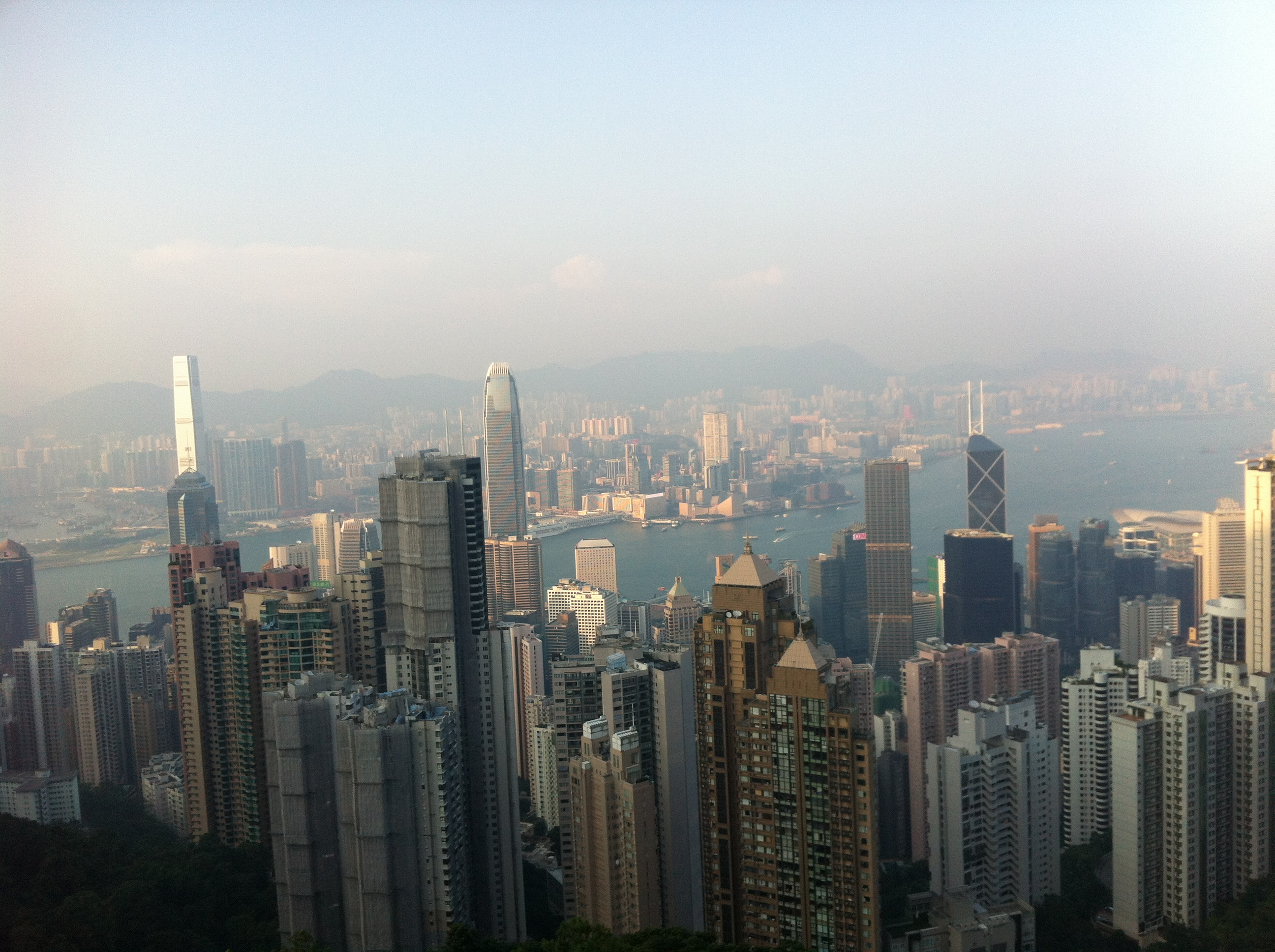 View from Victoria's Peak | Photo by Wilson Carletti (All Rights Reserved)