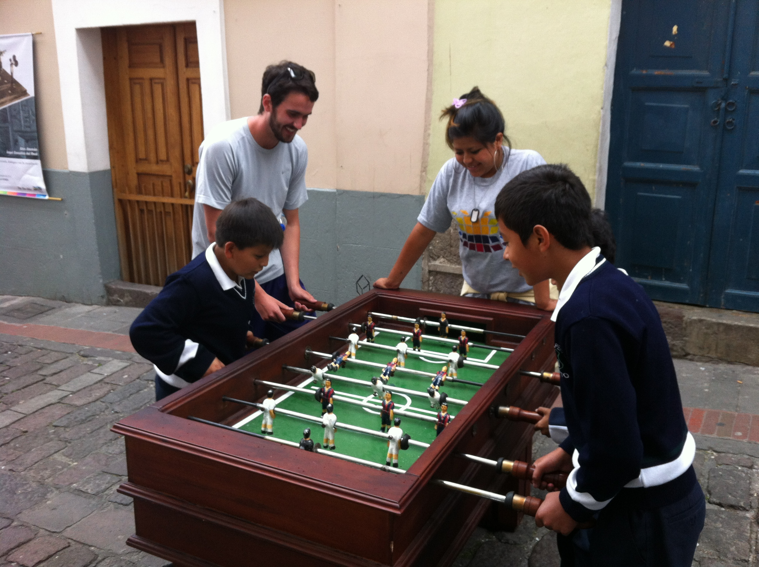 Foosball in La Ronda | Photo by Wilson Carletti (All Rights Reserved)