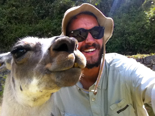 Llama selfie | Photo by Wilson Carletti (All Rights Reserved)