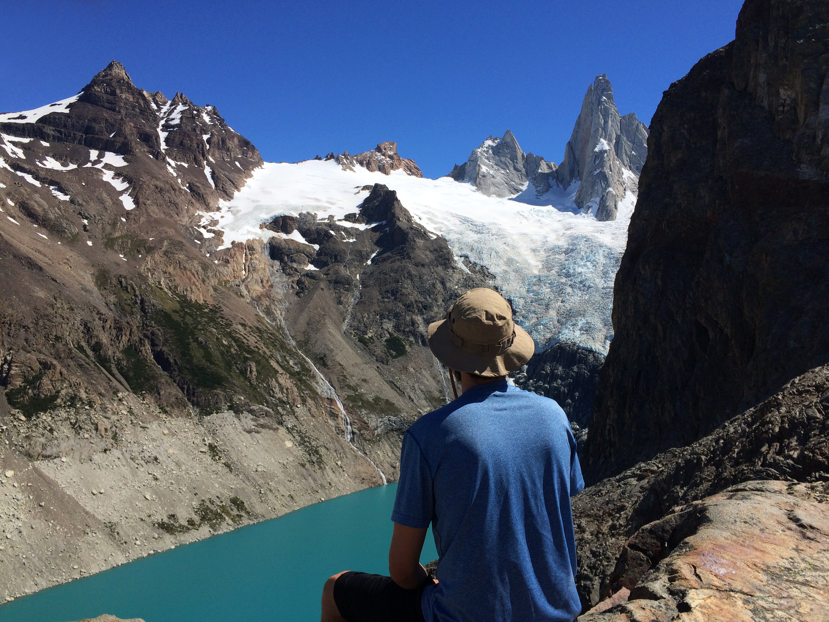 Views from Laguna de Los Tres | Photo by Wilson Carletti (All Rights Reserved)