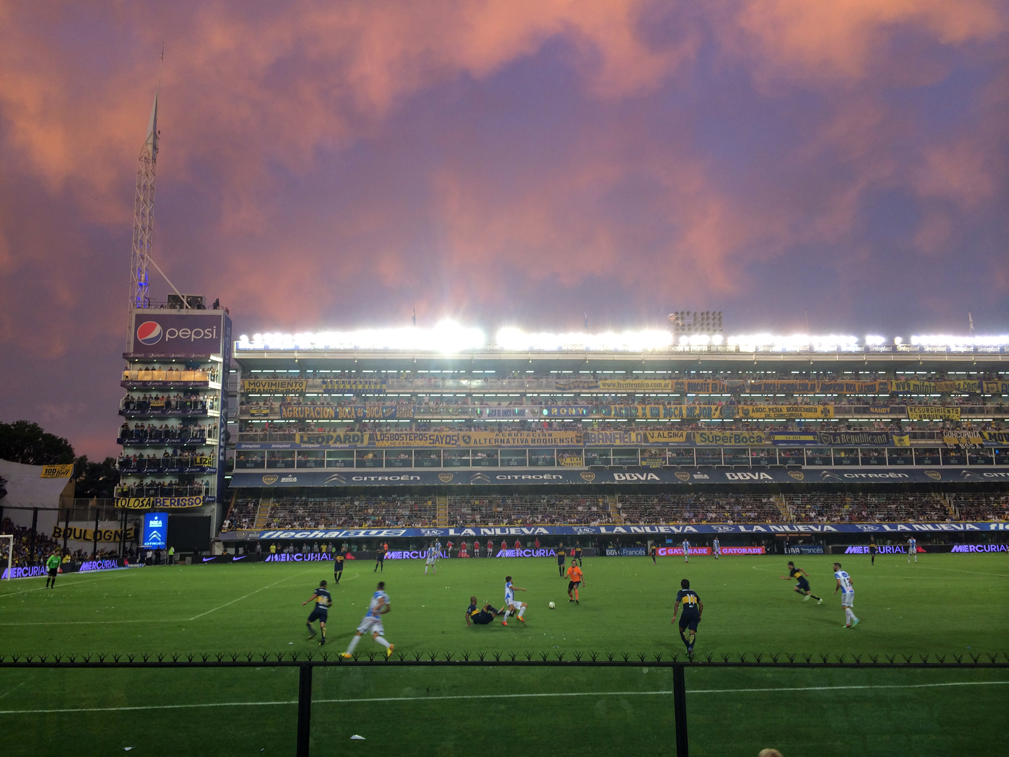 Boca Juniors | Photo by Wilson Carletti (All Rights Reserved)