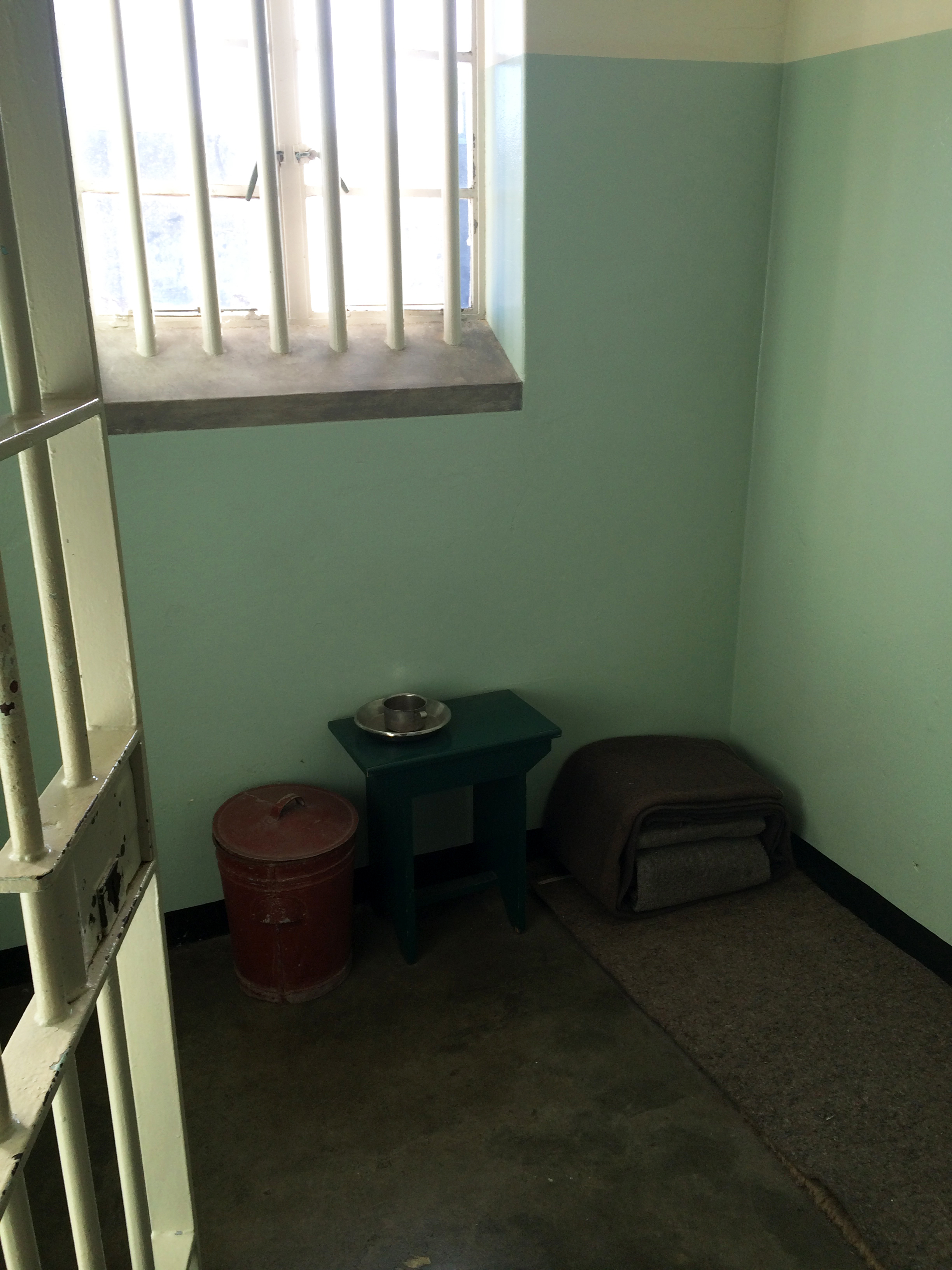 Mandela's Prison Cell   Photo by Wilson Carletti (All Rights Reserved)