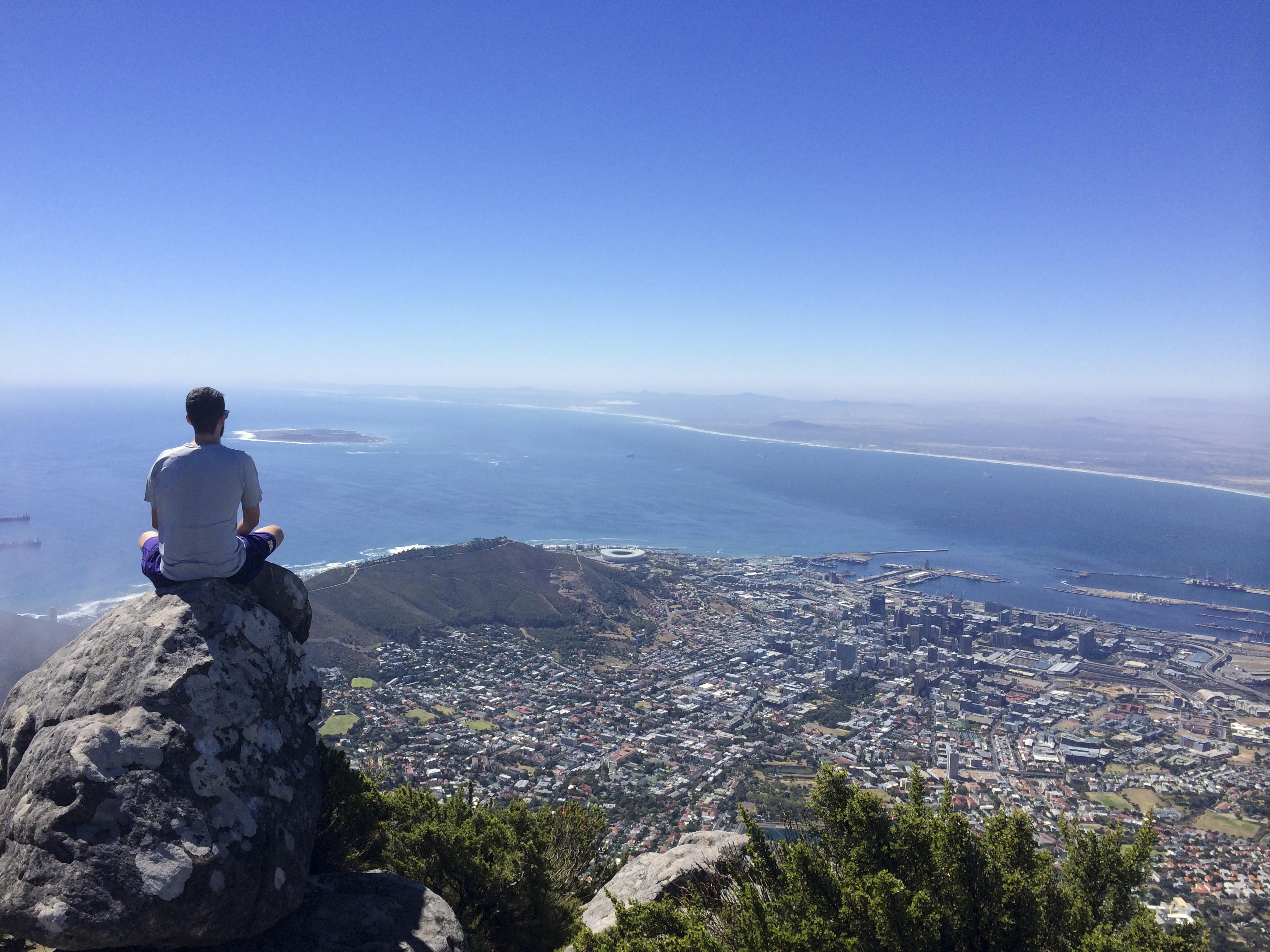 View from Table Mountain   Photo by Wilson Carletti (All Rights Reserved)