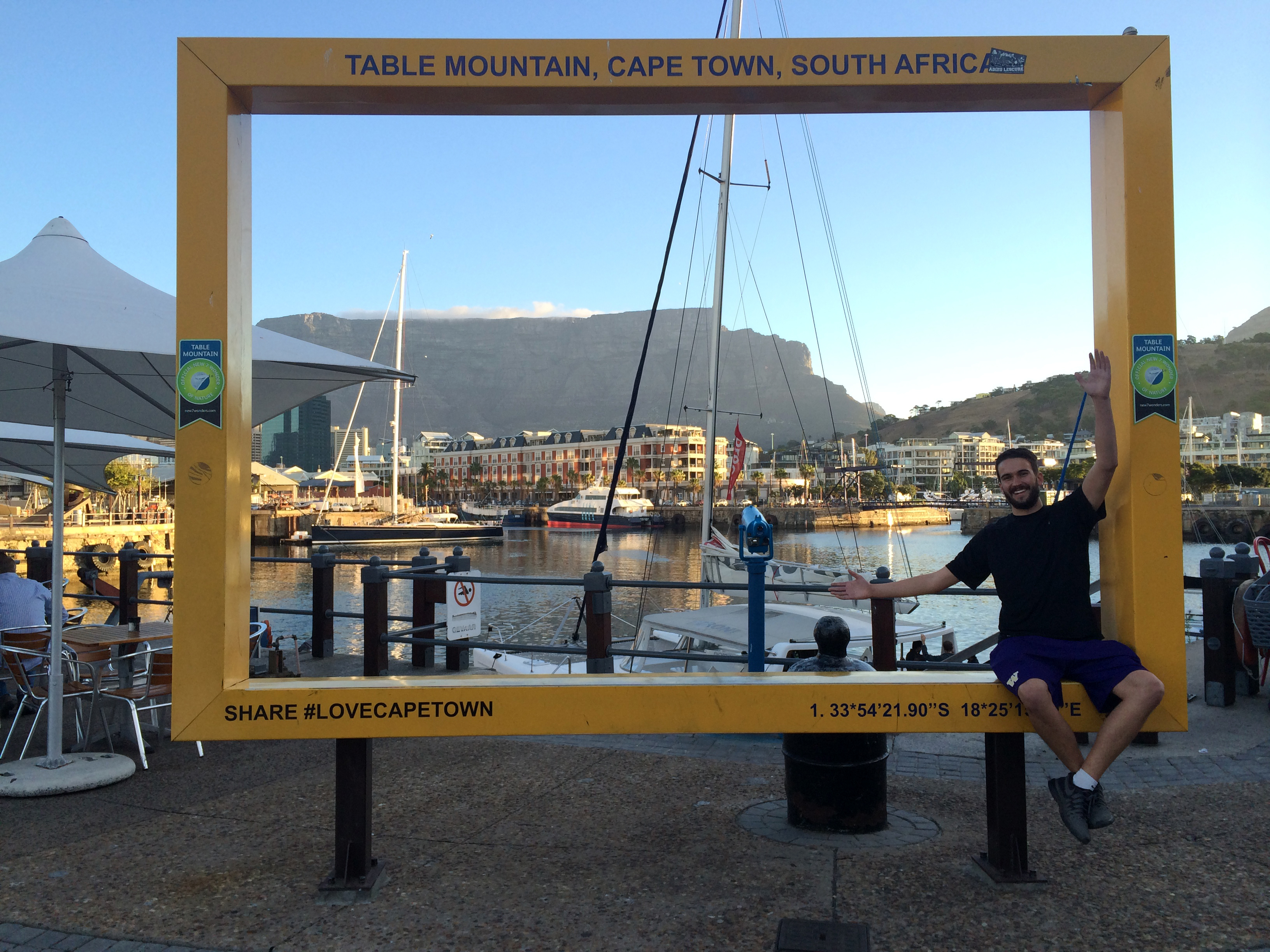 Table Mountain from the V&A Waterfront   Photo by Wilson Carletti (All Rights Reserved)