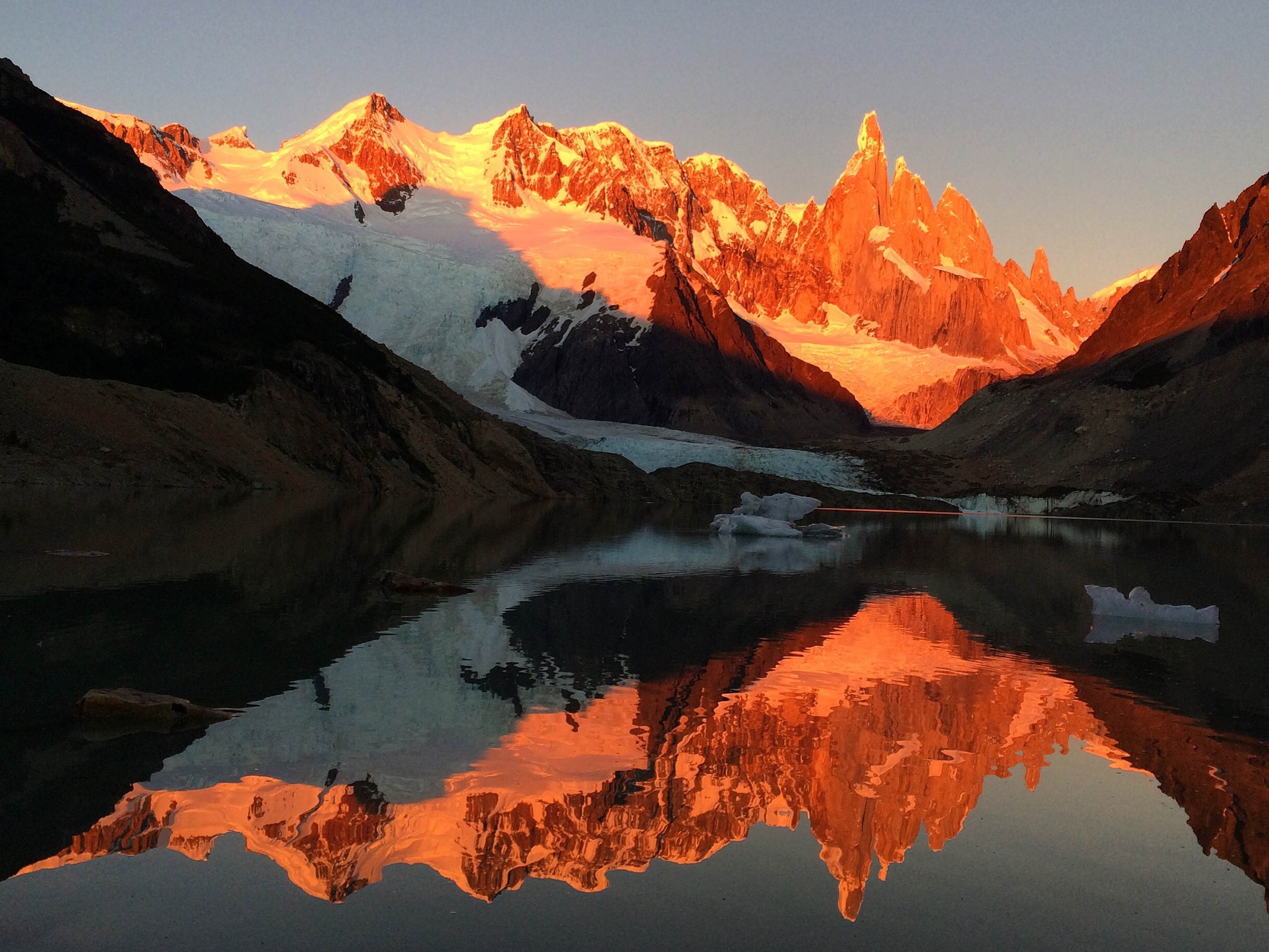 Cerro Torre at Sunrise | Photo by Wilson Carletti (All Rights Reserved)