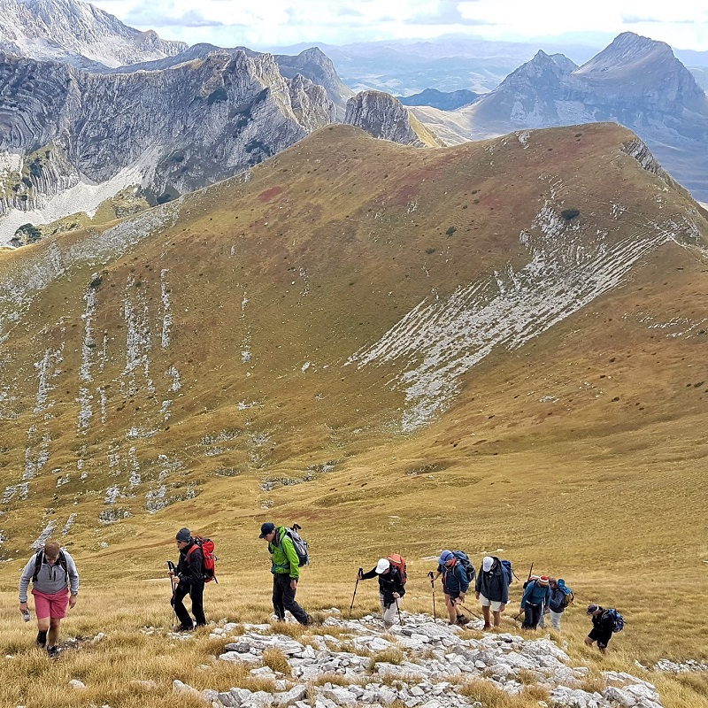 Trekking in Montenegro with ExploraMunt.com!