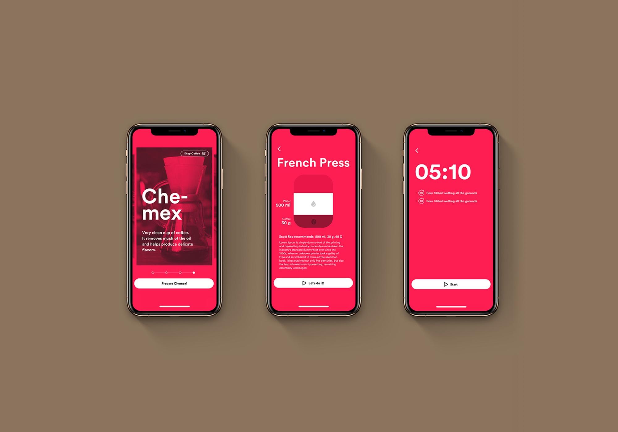 Brewtime App Design UX