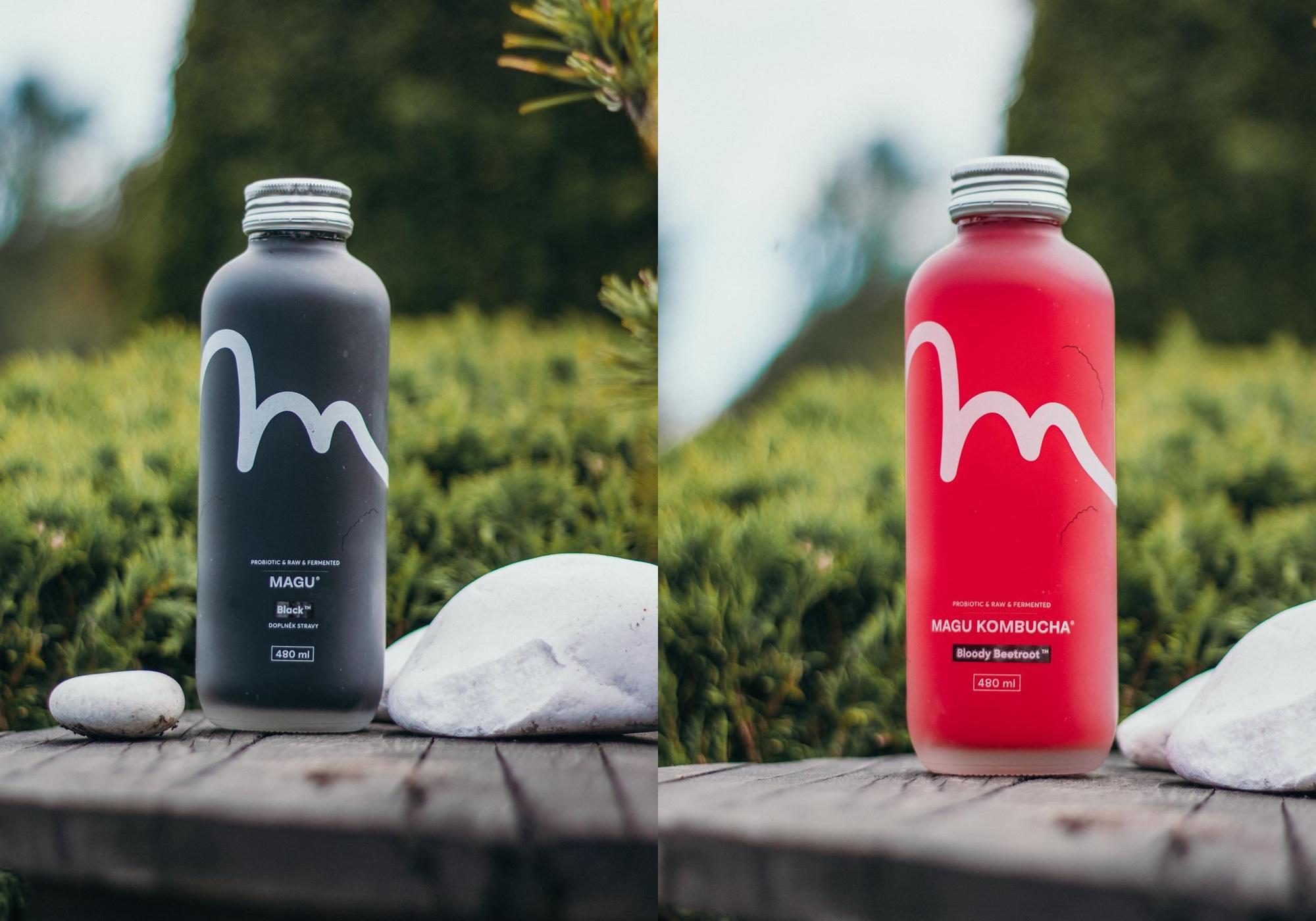 Magu Kombucha Branding Brand Identity