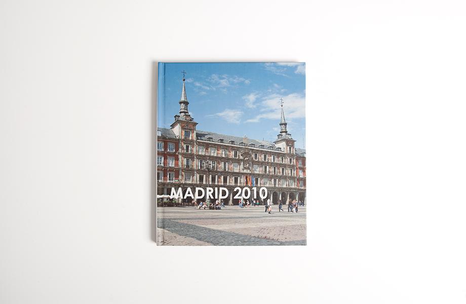 Standaard staand fotoboek foto omslag