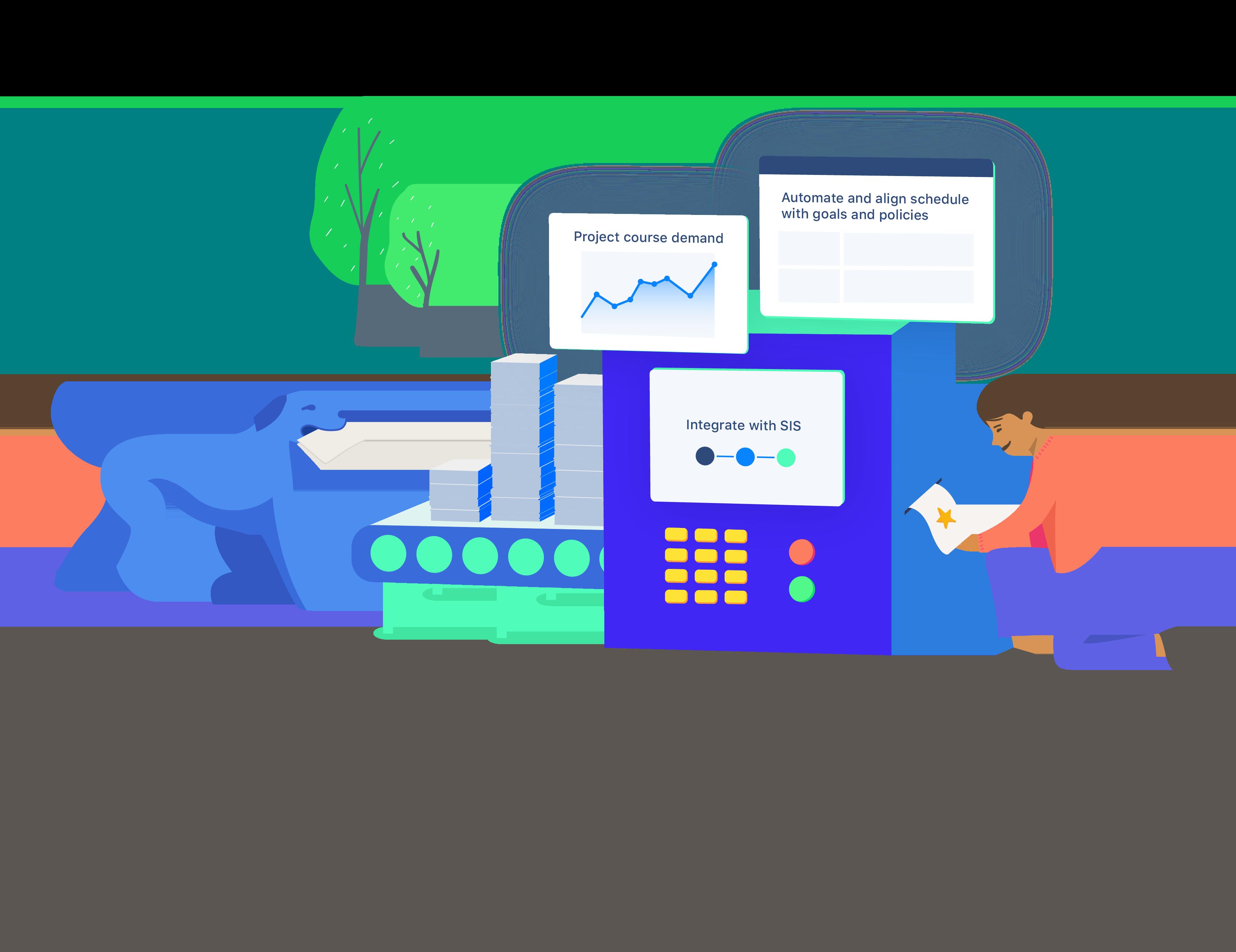 coursedog illustration