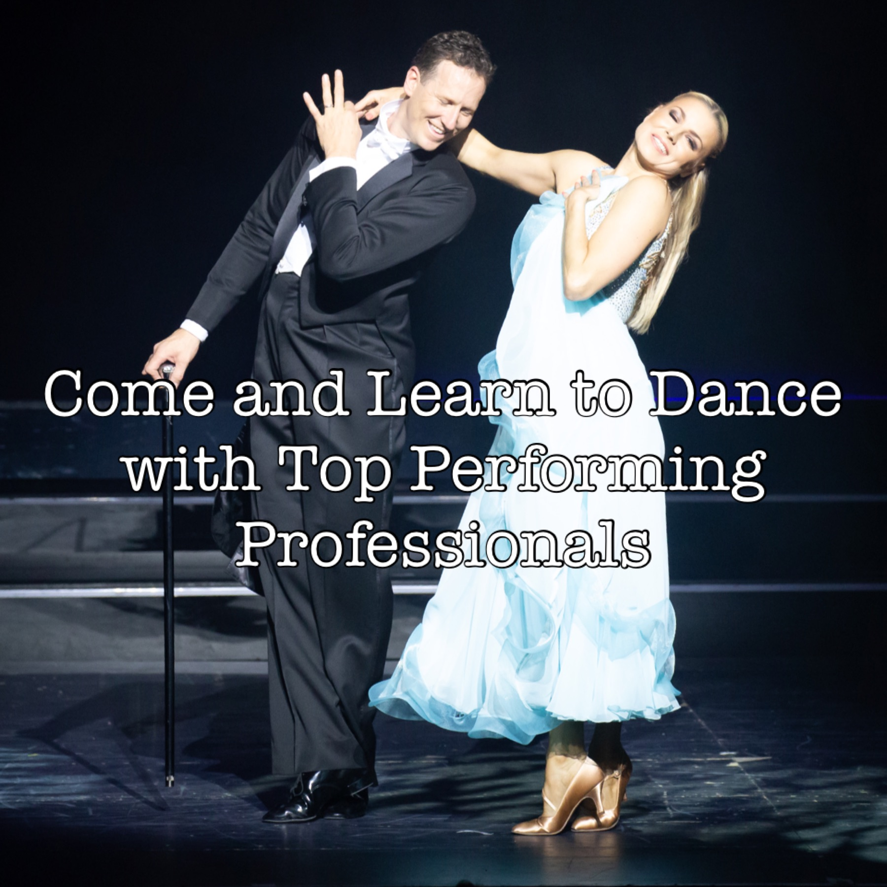 Crystal with Brendan Cole, Come and learn to dance with Top performing professionals.