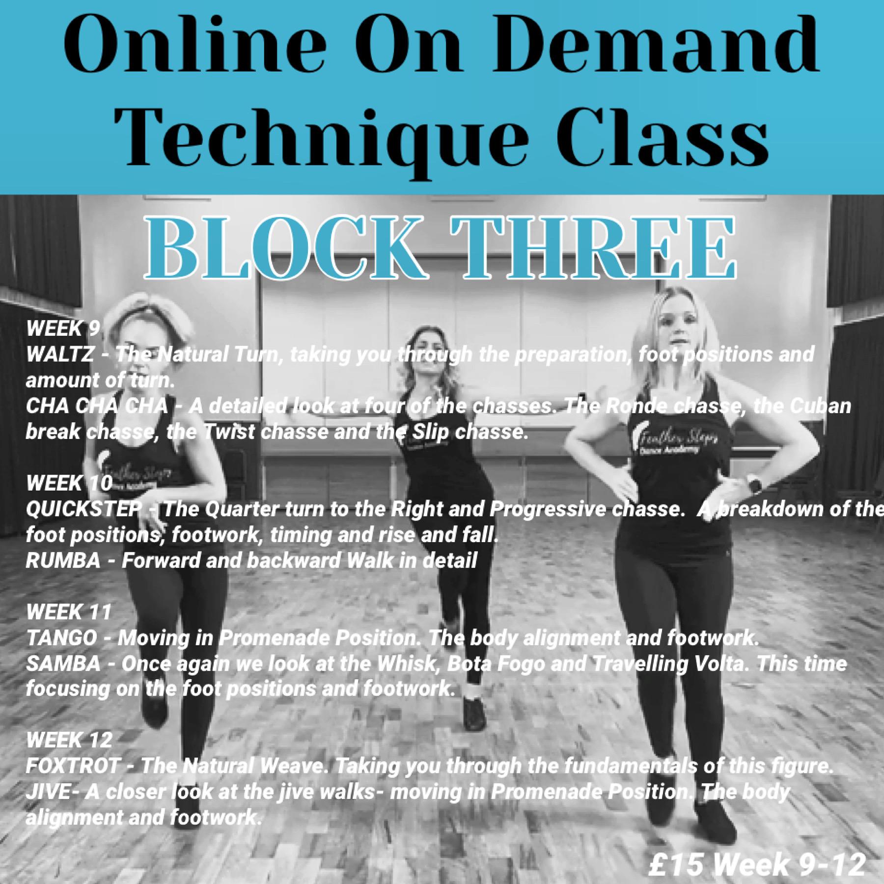 On demand Block 3