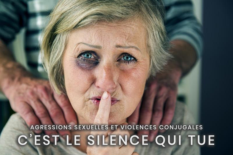 02- Agressions sexuelles et violences conjugales - C'est le silence qui tue