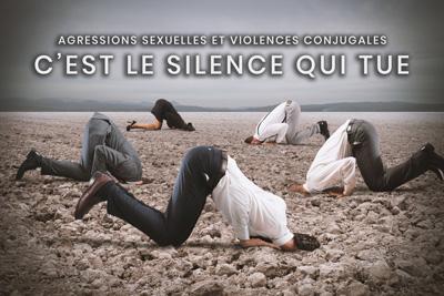 24- Agressions sexuelles et violences conjugales - C'est le silence qui tue