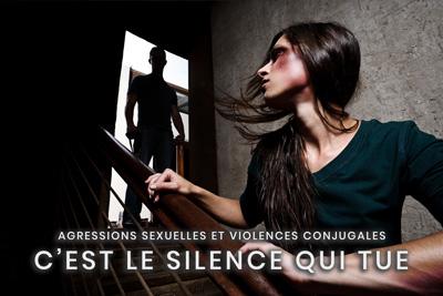 31- Agressions sexuelles et violences conjugales - C'est le silence qui tue