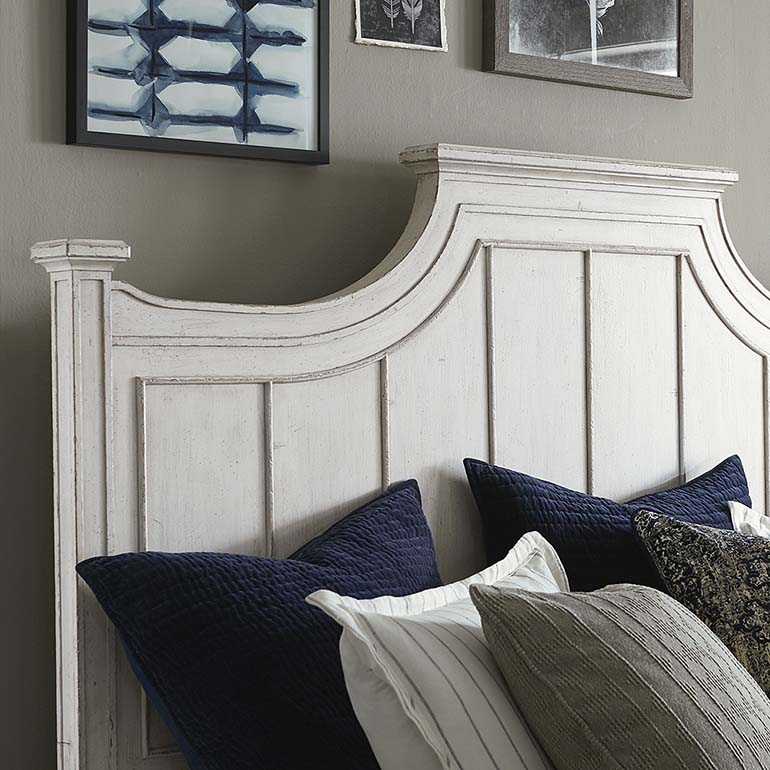 Bella Panel Bed (Queen)