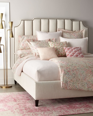 Bayonne Upholstered Bed (Low Footboard) (Queen)