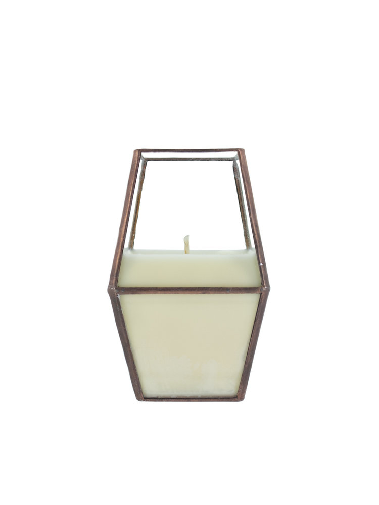 10 oz Copper Lantern Candle