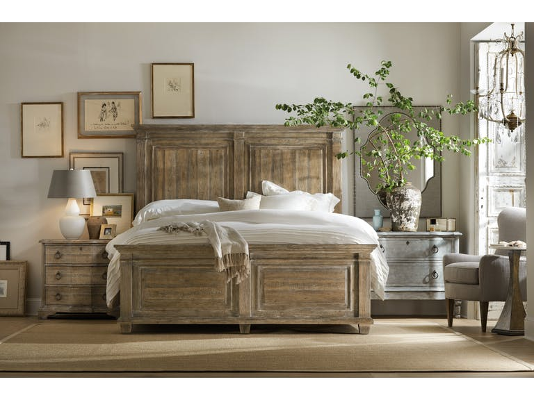 Boheme Laurier Panel Bed (California King)