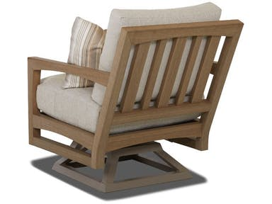 Delray Swivel Rocking Chair