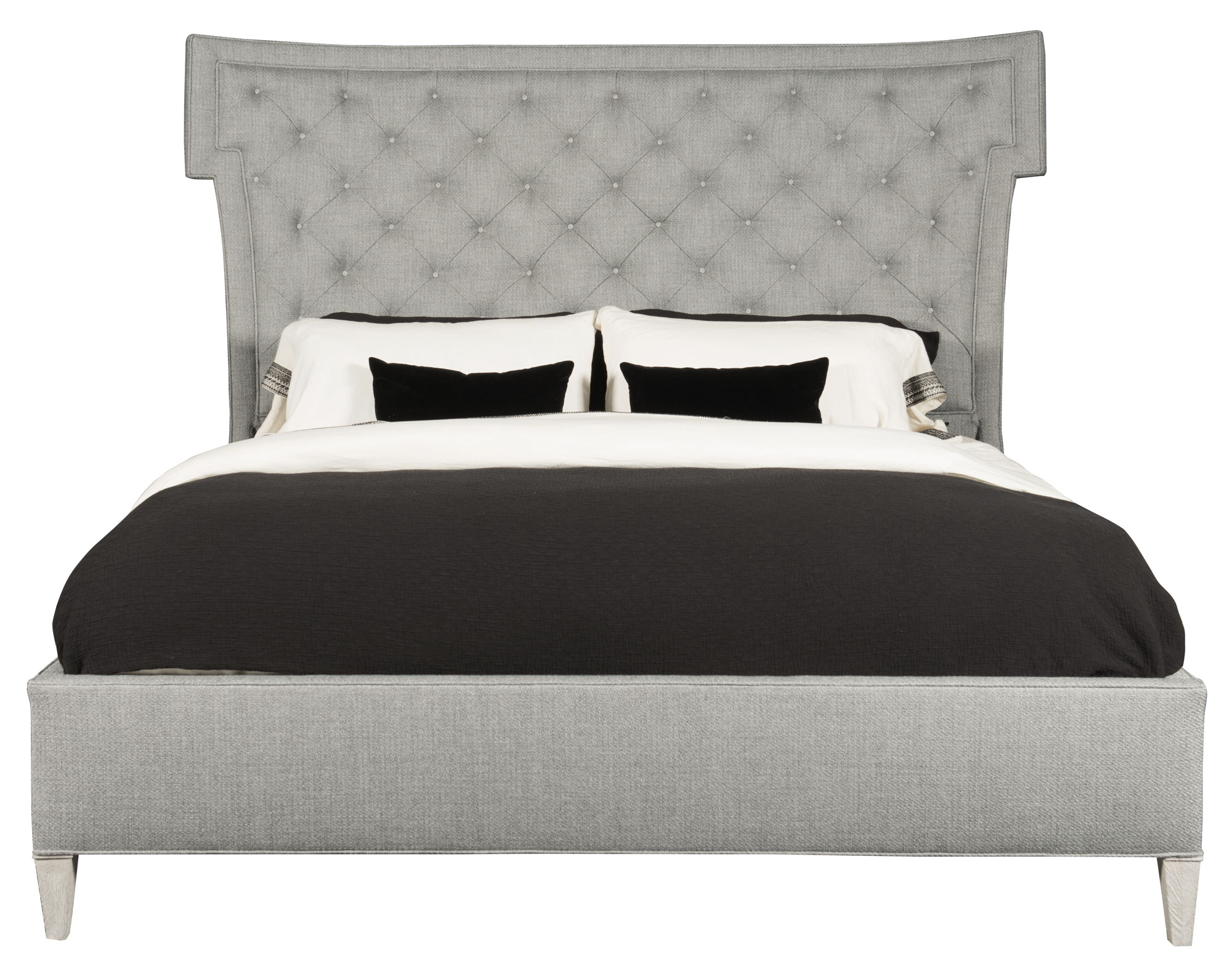 Domaine Blanc Upholstered Bed (Queen)