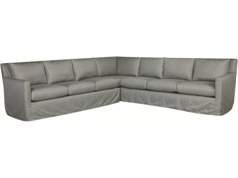 Nandina Outdoor Slipcovered Swivel Sectional Series