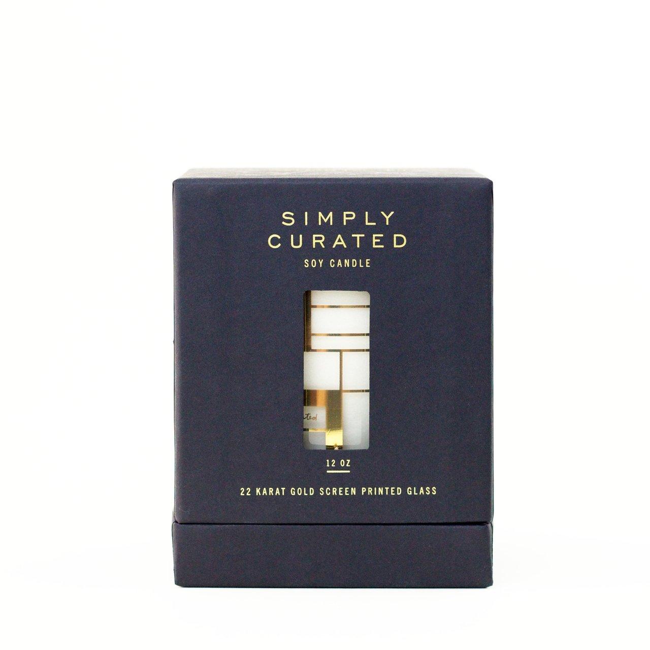 Sage + Cedar 22k Gold Soy Candle