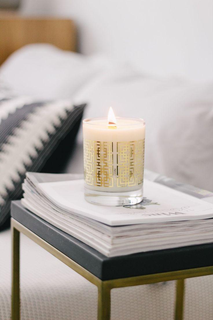 Vanilla Lavender 22k Gold Soy Candle