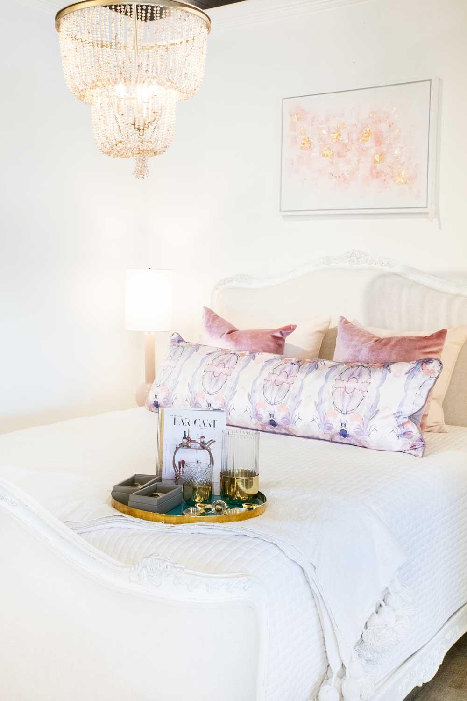 Long Purple Pillow
