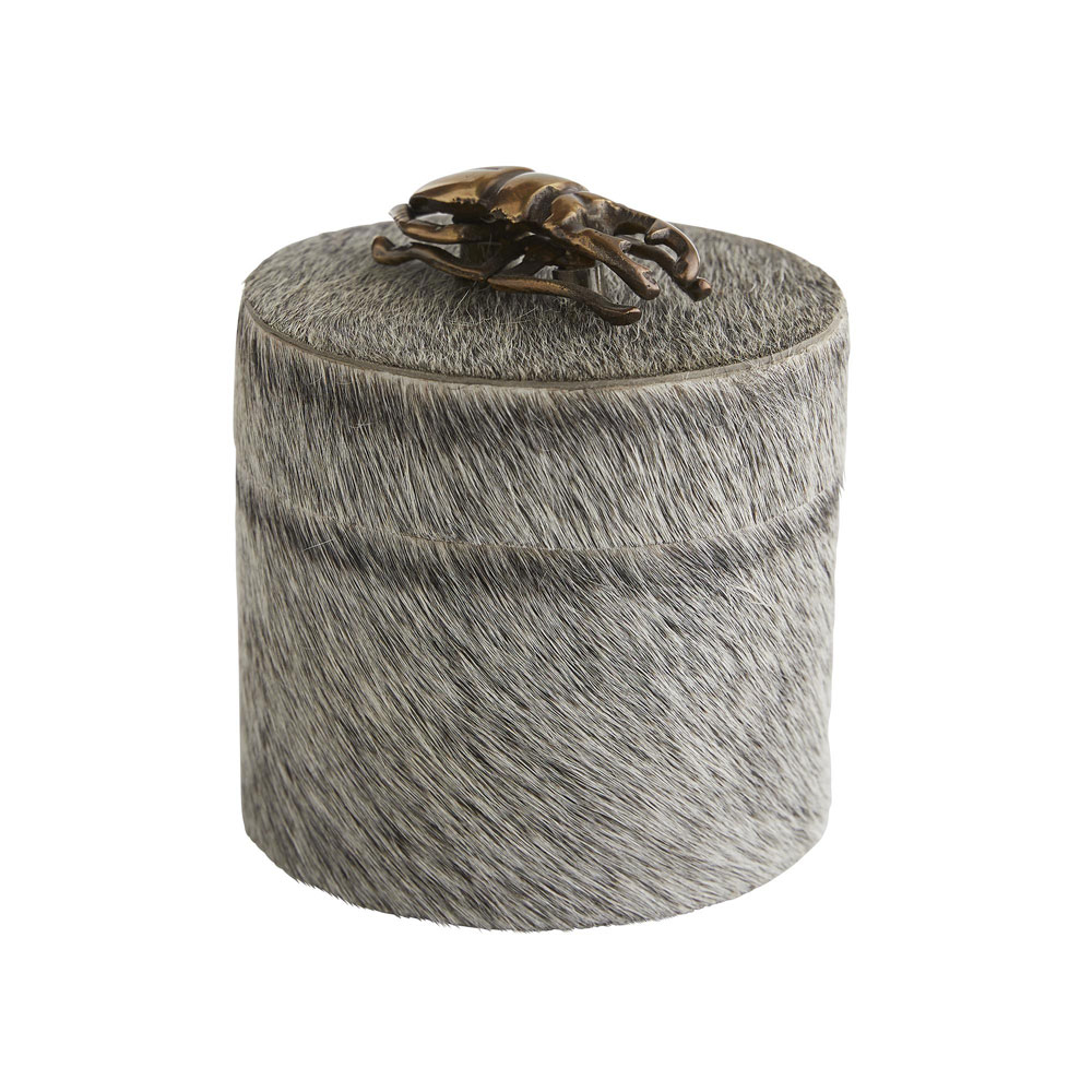 Lola Round Box (Grey)