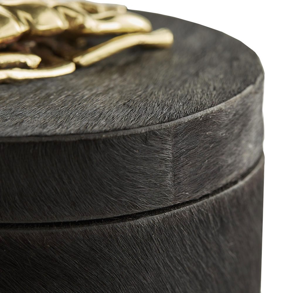 Lola Round Box (Black)