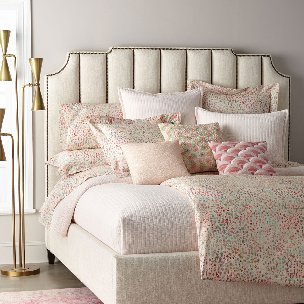 Bayonne Upholstered Bed (Low Footboard) (King)