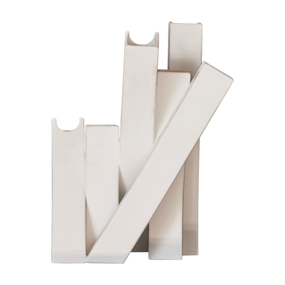 COLLAGE VASE-MATTE WHITE
