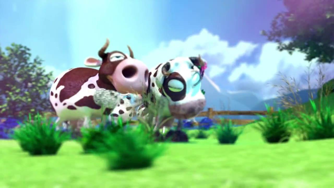 Kühe haben beste Freunde