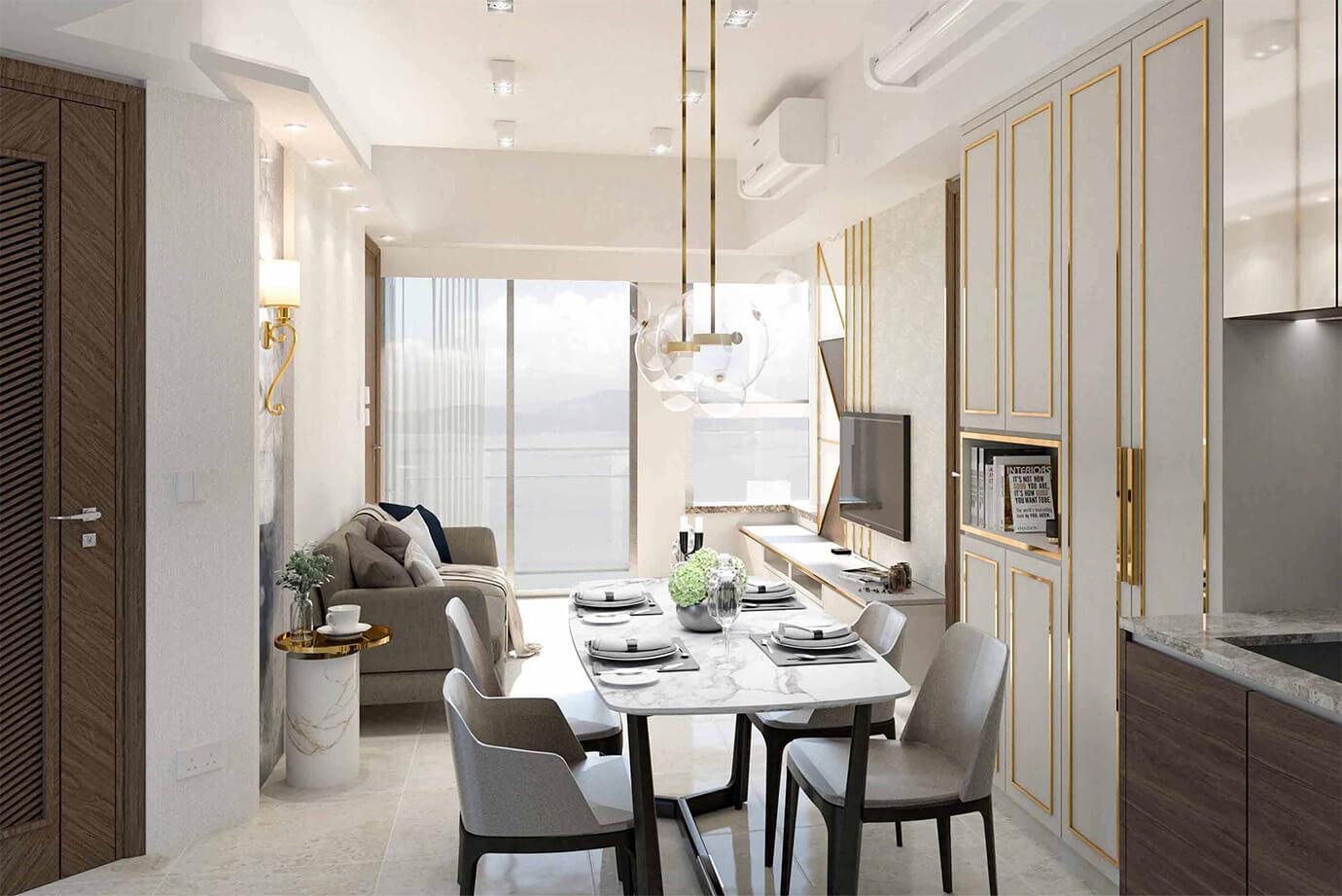 Inch Interior Design Hong Kong Ocean Supreme