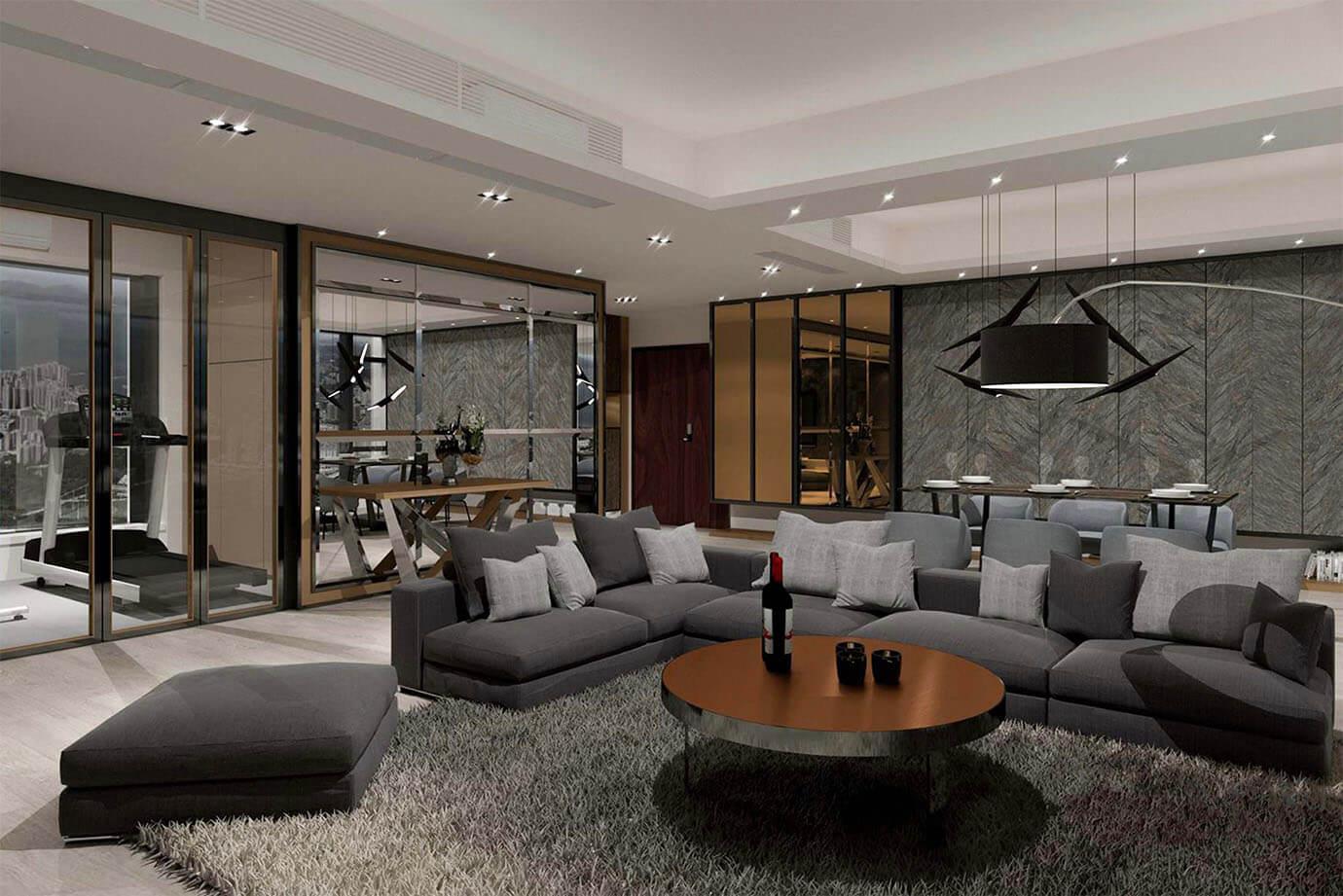 Inch Interior Design Hong Kong La Cresta