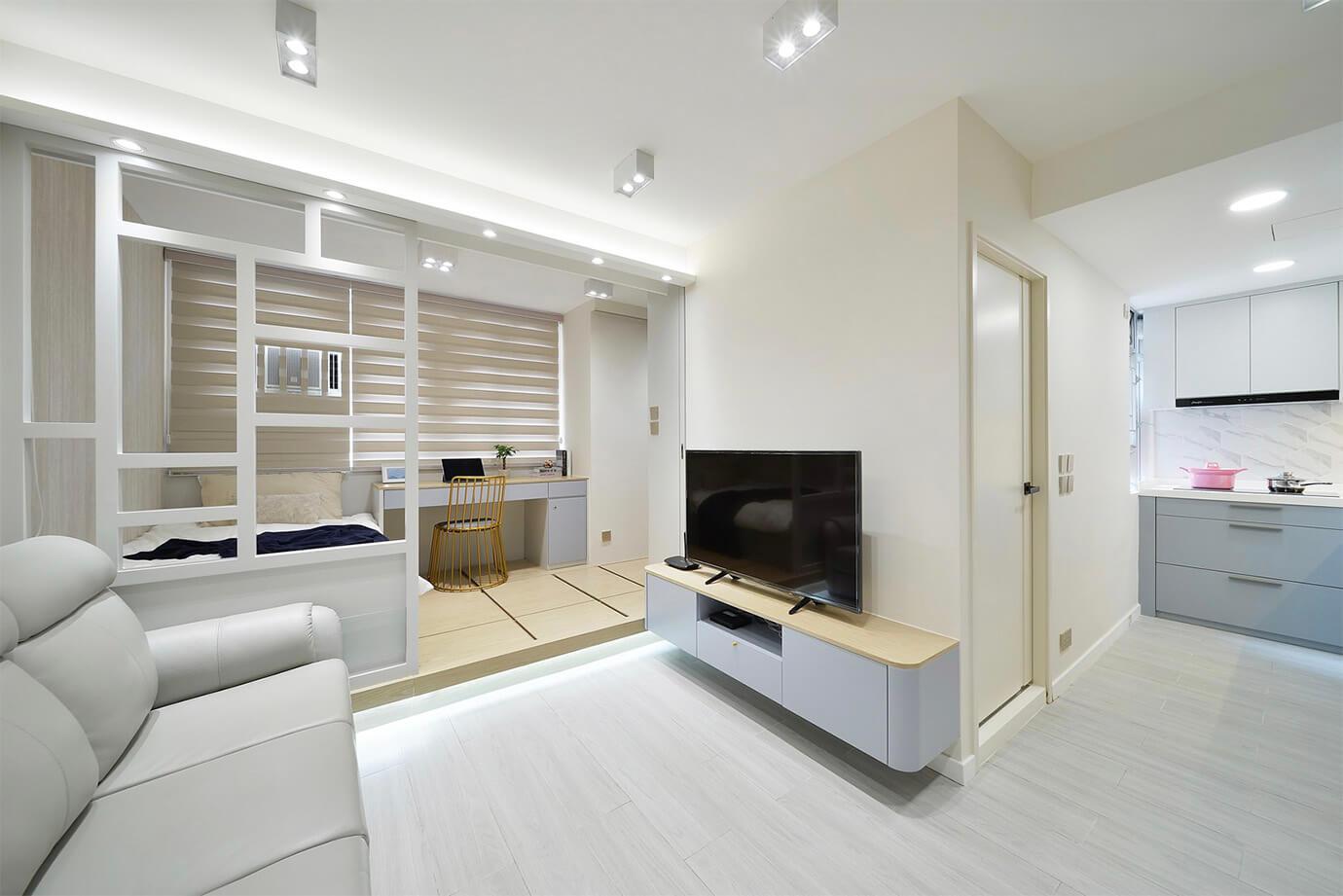 Inch Interior Design Hong Kong Hoi Lok Court 凱樂苑 長沙灣