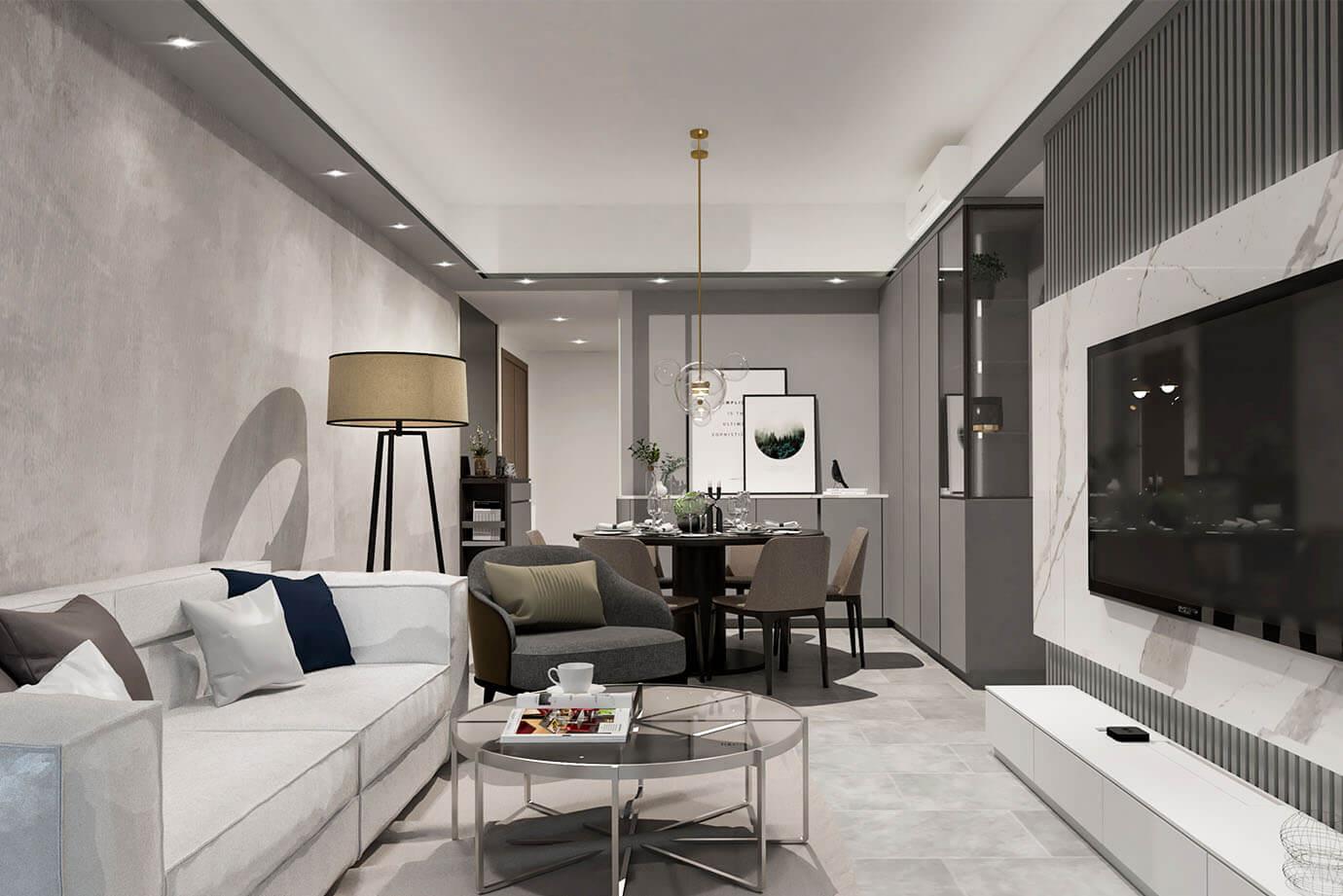 Inch Interior Design Hong Kong St. Martin 大埔雲匯