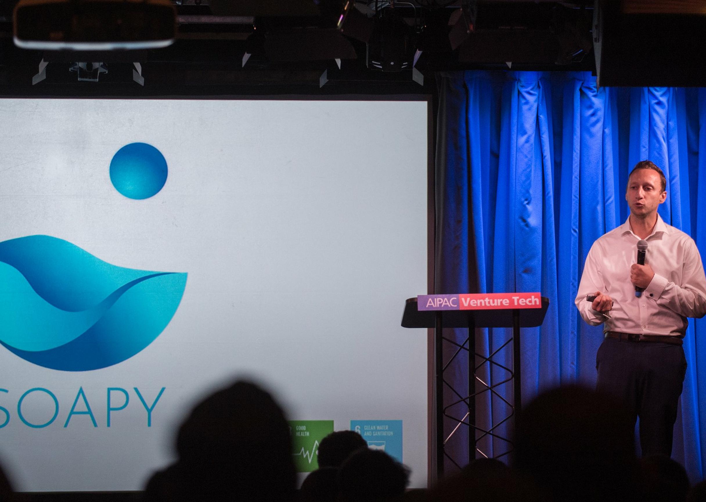 8200 Impact alumnus Soapy CEO Max Simonovsky