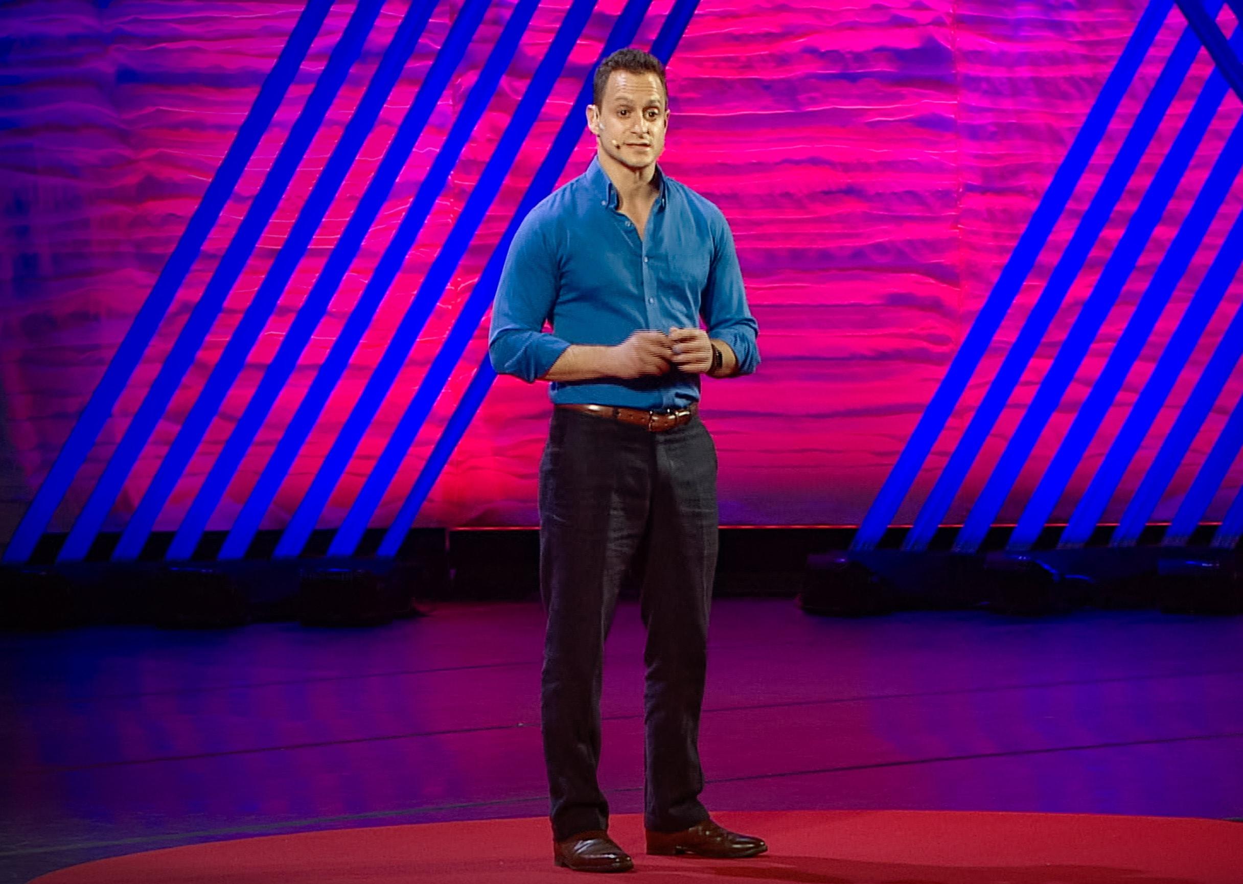 8200 Impact alumnus Keheala CEO Erez Yoeli at TEDx