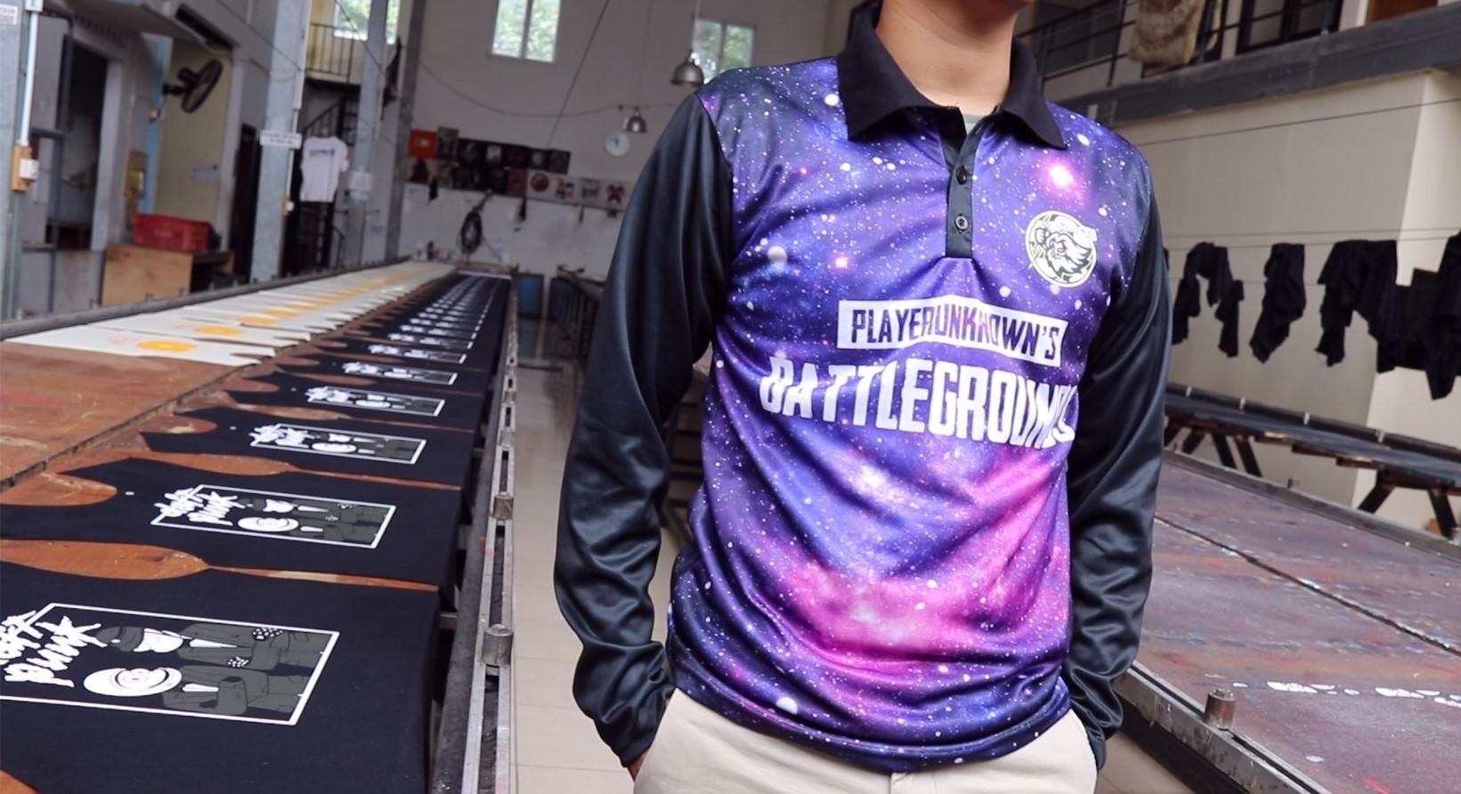 jersey gaming custom desain dari DYOTees