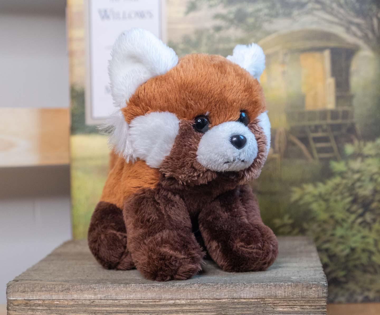 Tiny red panda plush