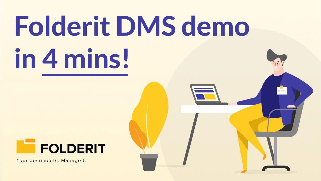Folderit DMS demo in 4 minutes!